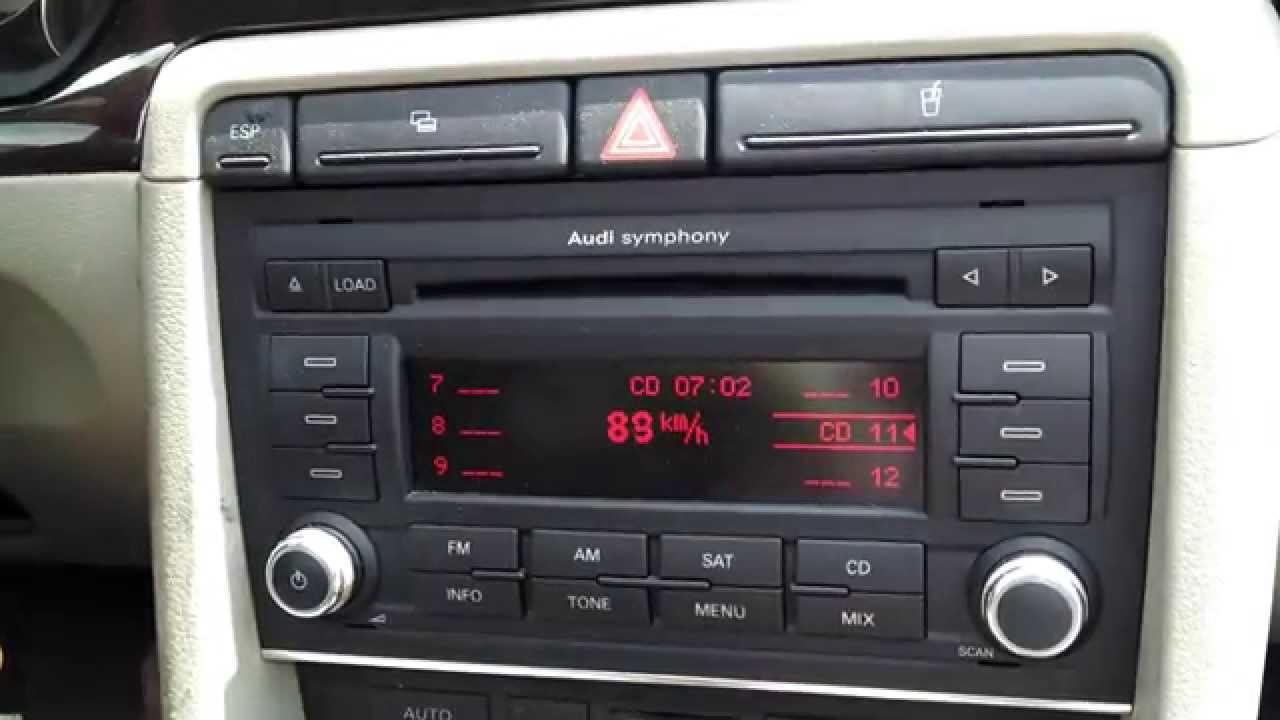 Audi Symphony Ii Speed Display Youtube