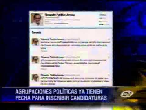 Vía Twitter se confirma que Rafael Correa buscará la reelección