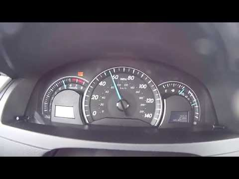 Official 2014 Toyota Camry 0-60 Acceleration and top speed