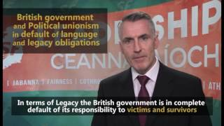 Political unionism and British government in default on language and legacy obligations