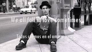 Jeff Buckley - We All Fall In Love Sometimes. (Letra en español and lyrics in english)
