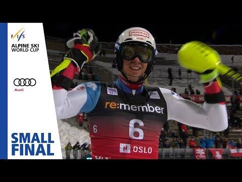 Myhrer vs. Zenhaeusern | Small Final | Oslo (City Event) | Men's PSL | FIS Alpine