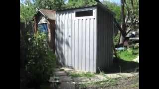 █ Как сделать летний душ для дачи и частного дома. (строительство, ремонт)