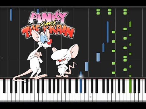 Pinky and The Brain - Main Theme [Piano Tutorial] (♫)