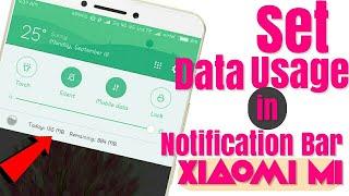 How to set data usage limit on all Xiaomi MI phone ,MIUI 8 ,MIUI 9 thumbnail