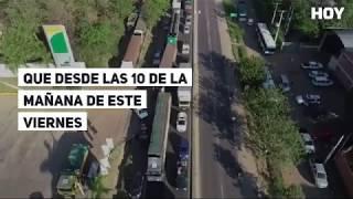 Puente Remanso bloqueado por nativos