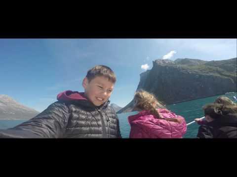 Boat trip in Nuuk Greenland