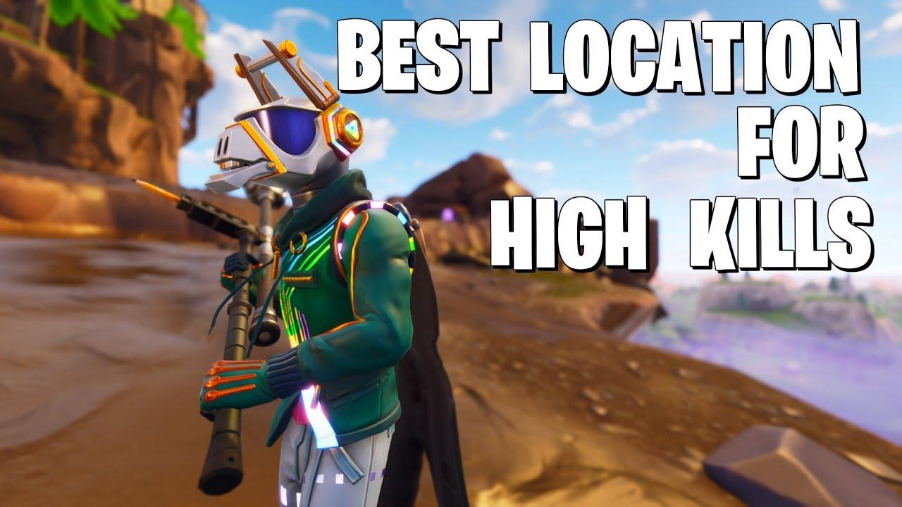 Best Landing For High Kills In Season  Fortnite Battle Royale Gameplay