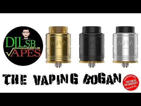 Aura RDA from DJLSB Vapes & Digiflavour | Full Review | The