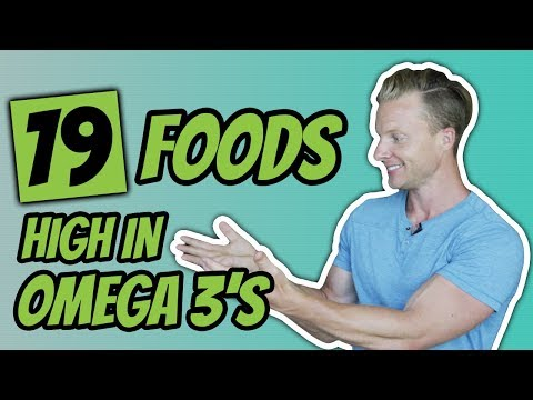 Best Foods High In Omega 3 Fatty Acids (HEALTHY FATS OMEGA 3 BENEFITS) | LiveLeanTV