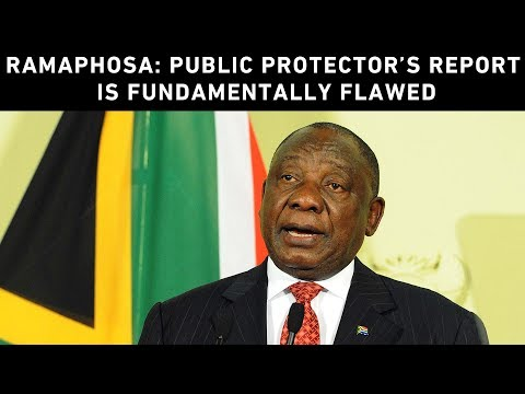 President: Public Protector findings against me are wrong in law & irrational