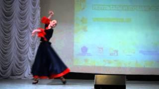 Загорская Олеся «Испанский танец»(