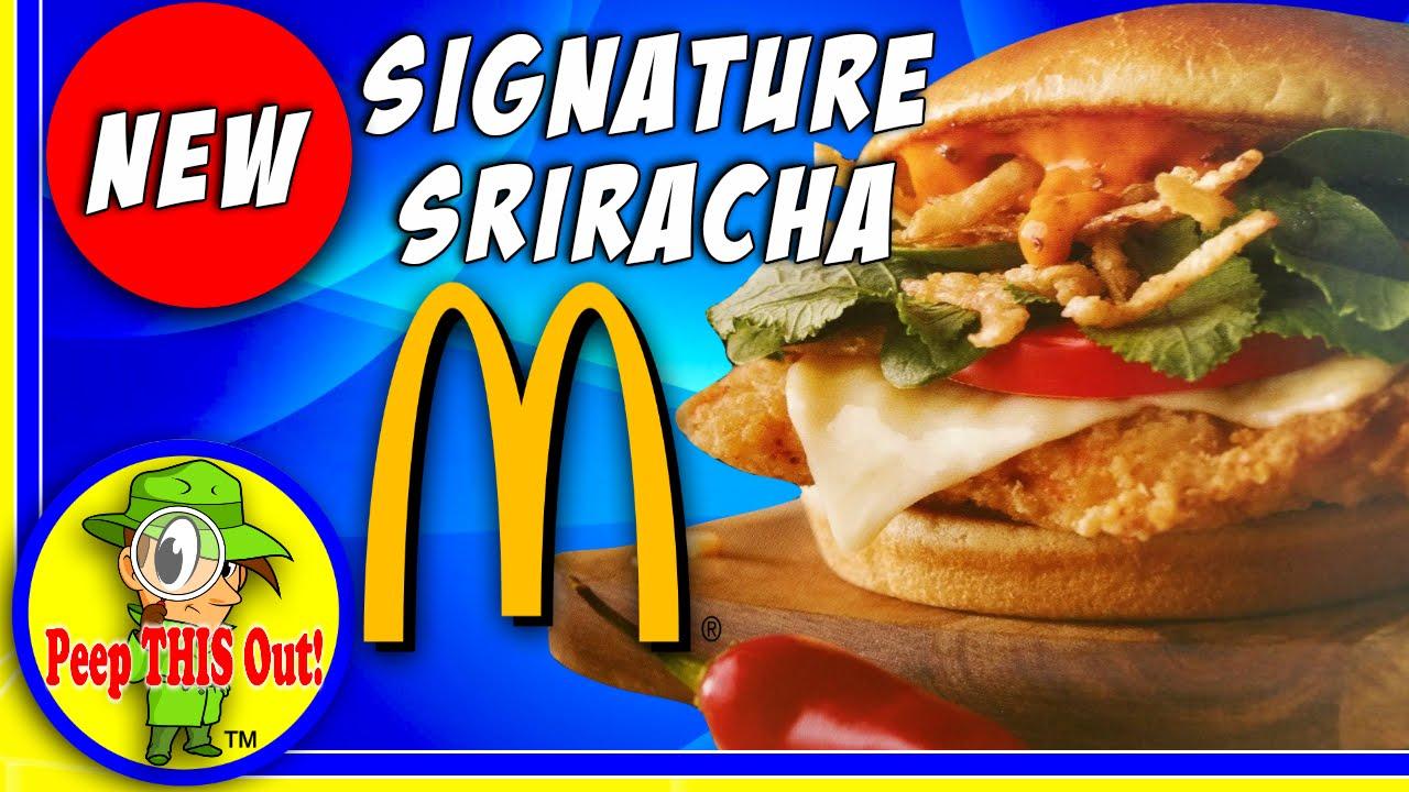 McDonald's® | Signature Sriracha Crispy Chicken Sandwich ...