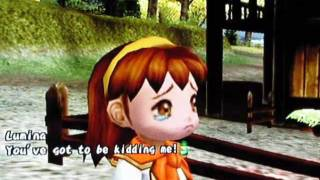 Harvest Moon: Another Wondeful Life - Rock/Lumina Rival Heart Event 1