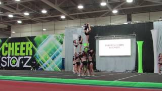 Cheerstarz Nationals Senior 4 Blackout 4/29/17