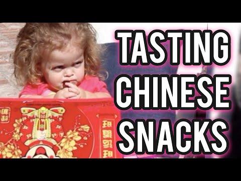 TASTING CHINESE SNACKS! VLOG 146