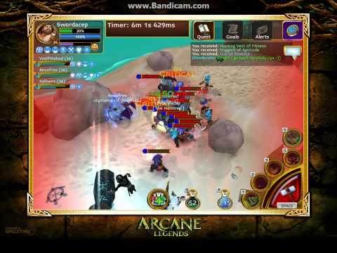 Arcane Legends : Captain Fangtooth [Elite]