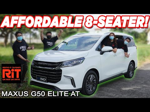 2021  Maxus G50 Elite AT Review : Affordable 8 Seater