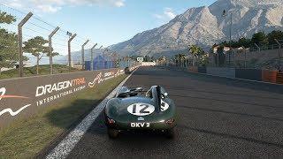 Gran Turismo Sport - Jaguar D-type '54 Gameplay [4K PS4 Pro]