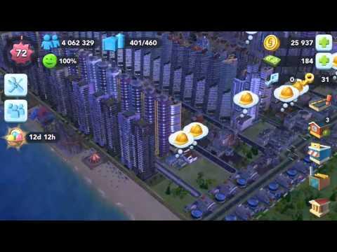 Simcity Buildit, 4 million population reached