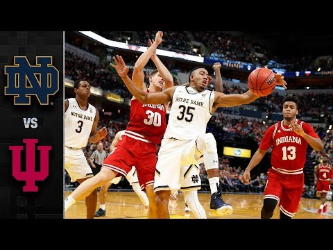 Indiana vs. Notre Dame Basketball Highlights (2017-18)
