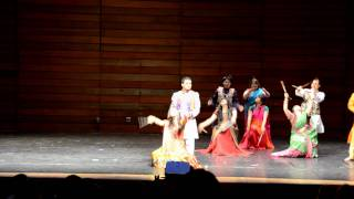 Indian Stick Dance (Dandiya Raas) at Southern Oregon University International Show