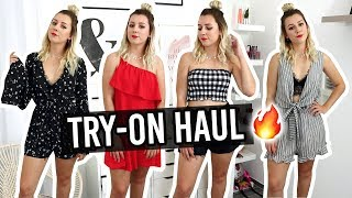 TRY-ON HAUL AMAZON, ASOS, MISSGUIDED, PRETTYWIRE...