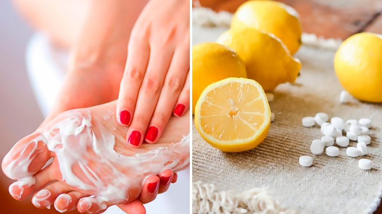 Combine Aspirin With Lemon to Remove Hard Foot Skin, Corns and Calluses