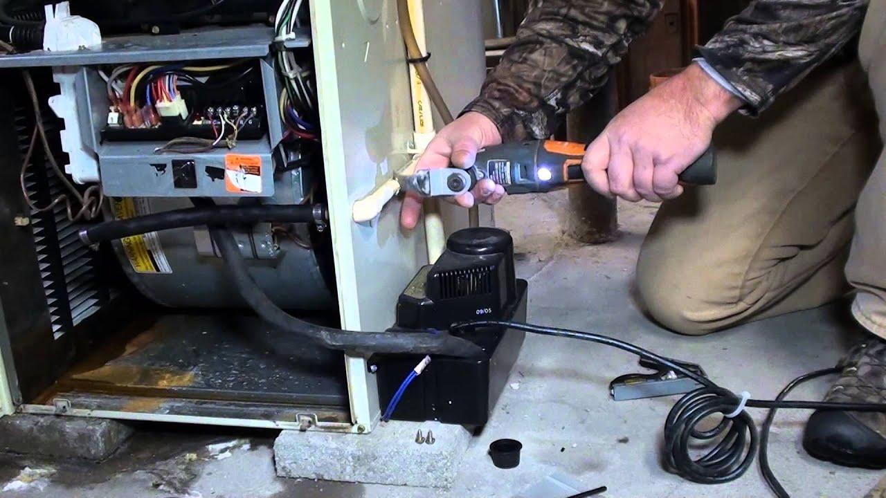 Carrier Weathermaker 9200 water leak fixed