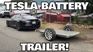 DIY Tesla Battery Trailer