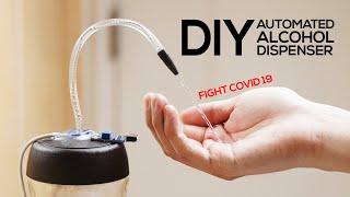 DIY Automatic Alcohol Dispenser ($3 No Arduino Needed)