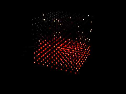 RGB LED CUBE 1000