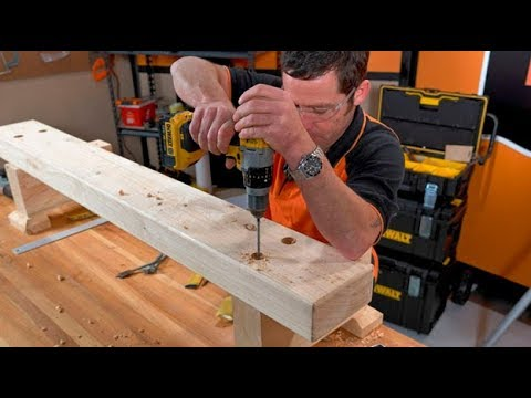 How To Build An Outdoor Bench Seat Mitre 10 Easy As