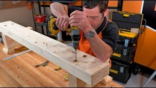 How To Build An Outdoor Bench Seat | Easy As