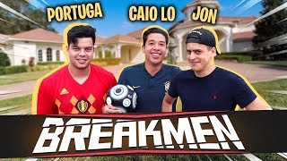 JON VLOGS vs PORTUGA - DESAFIO DO DOMÍNIO NA MANSÃO BREAKMAN!!!