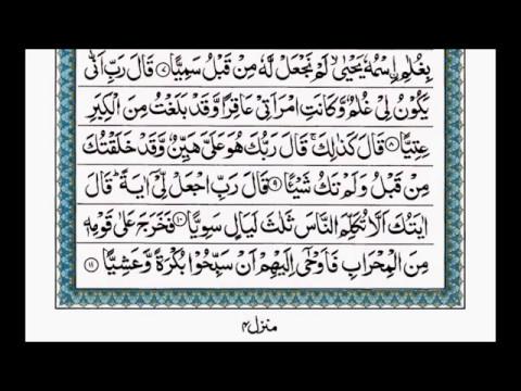 Suratul Maryam Ayat 1-15