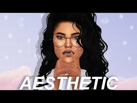 The Sims 4 CAS: Aesthetic | FULL CC LIST & SIM DOWNLOAD