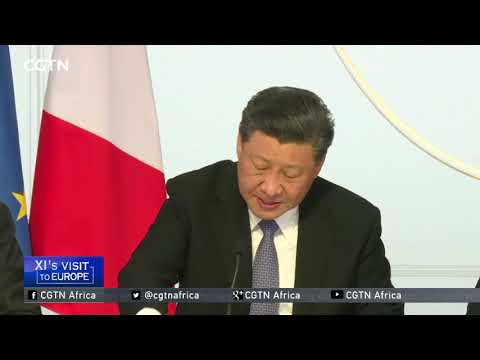 """Xi: Cooperation is part of China-Europe """"mainstream"""""""