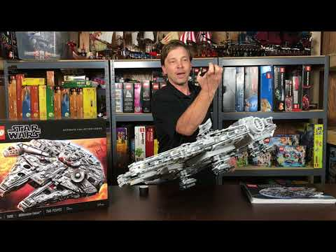 How to Display Your LEGO 75192 Millennium Falcon