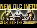 "Destiny 2. NEW DLC INFO! Destiny 2 Year 3, Jokers Wild Release Date, ""Season Of The Shadow"" & More!"