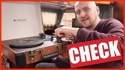 ✅ Navaris Retro Koffer Plattenspieler mit Lautsprecher  TEST