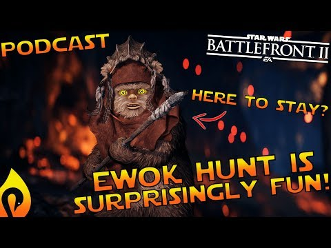 Battlefront 2's Ewok Hunt Needs Some Tweaks But Is A Lot of Fun!