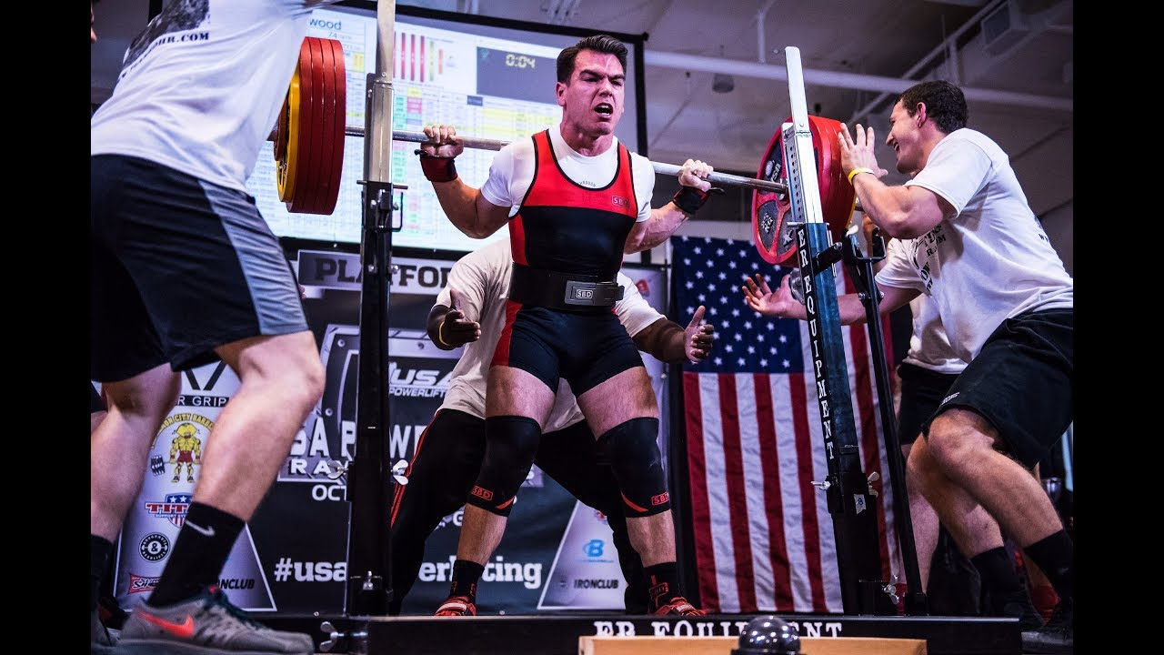 Taylor Atwood | 750KG/1653LB Total | 2017 USAPL Raw Nationals