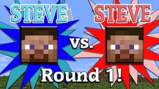 Steve vs. Steve - A Minecraft Rivalry - EP01