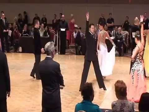 Kat Wagner and Sergey Barsukov Ohio Star Ball 2015 Smooth Quarter-Semi-and Final