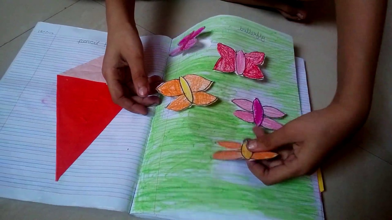 My Craft Book Craft Book For Kids Craft Book Ideas Youtube