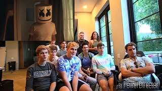 Team Ten React To Marshmello - Together (Official Music Video)