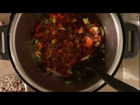 Chili Bean Vegetable Soup
