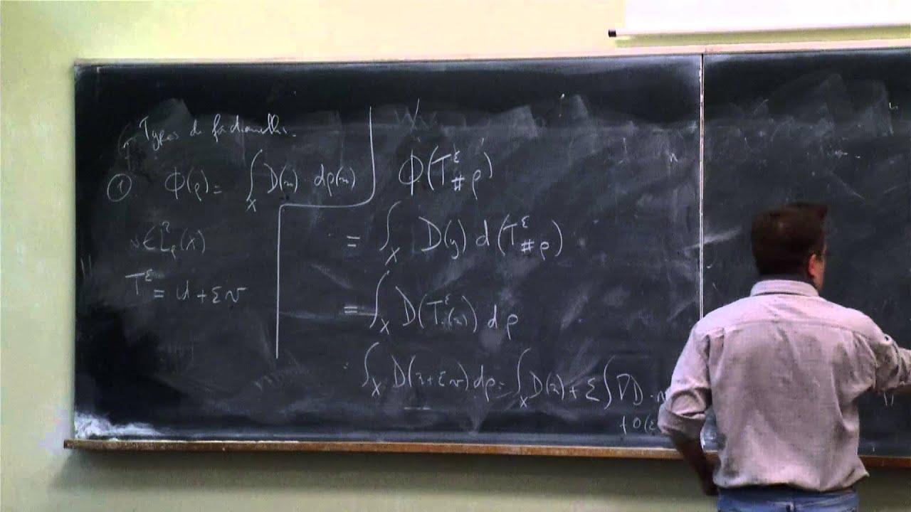 Bertrand Maury - Transport optimal et mouvements de foules sous contrainte de congestion (Part 5) #1