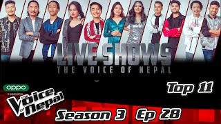 The Voice of Nepal Season 3 - 2021 - Episode 28 (Live)